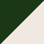 Verde oscuro y beige