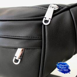 riñonera bandolera bolso negra
